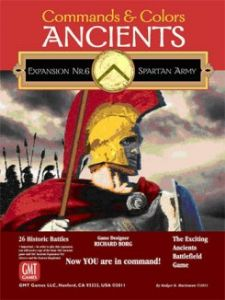 Commands & Colors : Ancients - Expansion 6 - The Spartan Army